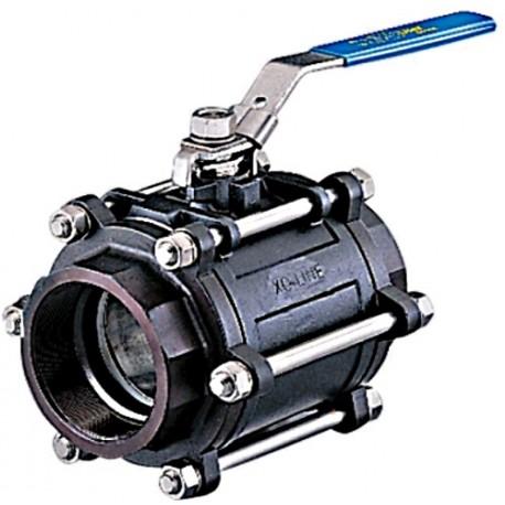 Typ X3444 Zawór odcinający kulowy