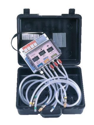 Urządzenie manometryczne do sprawdzania zaworów rodziny BA.
